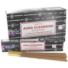Aura Cleansing Incense Sticks - Satya Ayurvedic Range