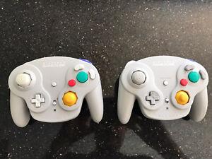 Two - Official Nintendo Gamecube WavebirdWireless Controller - No Receivers