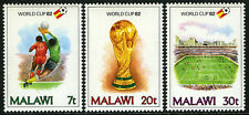 Malawi 402-404, MNH. World Soccer Cup, Spain, 1982