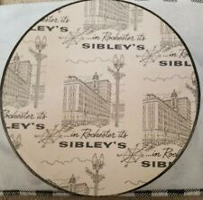 Sibley's Department Store Hat Box Rochester Ny Fabulous Newsprint Theme.