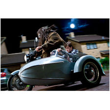 Hagrids Motorbike Sidecar Harry Potter Collectible Stamp Postcard Royal Mail