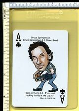 Bruce Springsteen Rock Roll Playing Swap Card; Born in the Usa; Single; nm/m