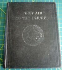 1916 ST JOHNS AMBULANCE BOOK FIRST AID TO THE INJURED Colour Skeleton Pullout