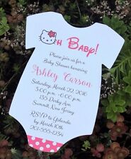 Hello Kitty Baby Shower Invitation -  All Wording Customized