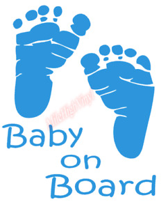 Baby On Board Sticker Vinyl Decal Window Sticker Car