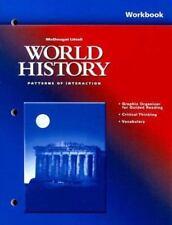 McDougal Littell World History Patterns of Interaction Workbook-ExLibrary