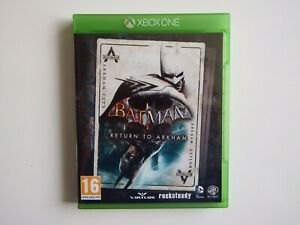 Batman: Return to Arkham for Xbox One in NEAR MINT Condition (Disc's MINT)