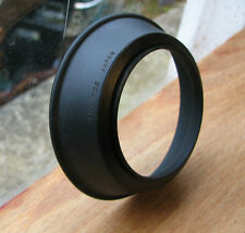 Olympus OM rubber wide angle lens hood for  28mm ( 49mm screw in)