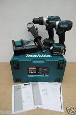 MAKITA DLX2145TJ LXT COMBO KIT 18V COMBI DRILL & IMPACT DRIVER 5 AH LI-ION + USB