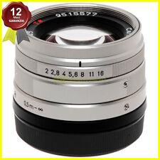 Obiettivo Carl Zeiss Planar T 45mm. f2 per fotocamere Contax G mount G1 e G2