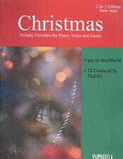 Christmas 2 in 1 Piano Vocal Sheet Music Joy To The World O Come All Ye Faithful