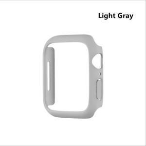 For Apple Watch Sereies 7 41mm 45mm Matte Bumper Case Hard PC Frame Cover