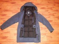 """Canada Goose Langford snow expedition parka, S/P, 21.5"""" PTP"""