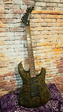 Peavey Tracer Deluxe Guitar USA 1989 Gold Marble Stone HM Super Strat Kahler