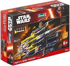Revell 06750. Modellino Star Wars. Poe´s X-Wing combattente. Con suono. 18 pezzi
