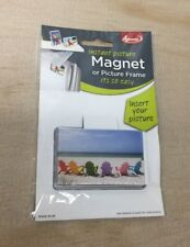"""Adventa Instant Picture Magnet Or Picture Frame 3"""" x 2"""""""