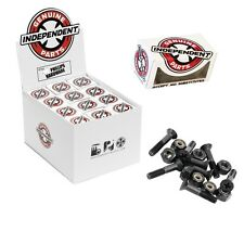 "SKATEBOARD TRUCK  INDEPENDENT 1.5"" Phillips BLACK  SCREW HARDWARE"