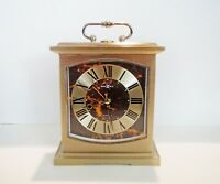 HOWARD MILLER CARRIAGE CLOCK - With THOMAS JEFFERSON PORTRAIT