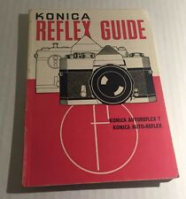 Retro Vintage Konica Reflex 35mm SLR Film Cameras Guide Book