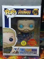 Marvel Avengers Infinity War Thor GITD Asia Ex Pop #286 Vinyl Bobble-Head Aus