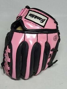 Franklin Baseball Glove Pink & Black 4510 Right Hand Throw RTP Series Adjustable