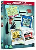 High School Musical Trilogy 1+2+3 New DVD Region 2