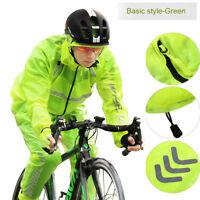 Ultrathin Cycling Bicycle Motorcycle Waterproof Wind Rain Coat Jacket+Pants Set