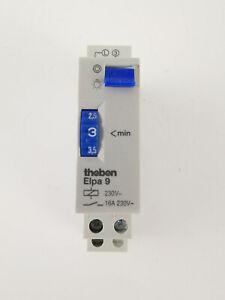 Treppenlichtzeitschalter für Reiheneinbau 230V 16A ELPA9 THEBEN