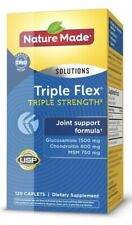 Nature Made Triple Flex Triple Strength Joint Support 120 ct, EXP JUNE 2022 BNIB