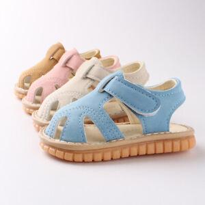 Baby Toddlers Bear Sneaker Pre Walker Sandels Shoes Infant Trainer Boys Girls