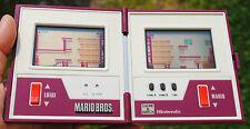 Nintendo GAME & WATCH MARIO BROS. : cache-piles & N° série OK ! (piles offertes)
