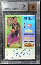 2017-18 Contenders John Collins RC Auto /49 Finals Ticket Rookie BGS 9 .5 Away