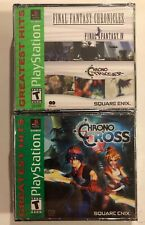 New Final Fantasy Chronicles Final Fantasy IV Chrono Trigger & Chrono Cross PS1