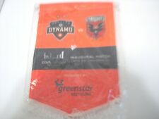 NEW HOUSTON DYNAMO VS D C UNITED BANNER 5/12/2012 BBVA MLS SOCCER BANNER FLAG