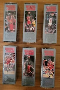 1991 Upper Deck Michael Jordan Locker Set 1-6 Sealed RARE Complete Set