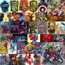 5D Ironman Superheld Diamond Painting Diamant DIY Kreuzstich Malerei Bild Poster