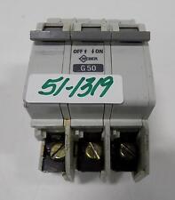 WEBER 480V 3P G50 CIRCUIT BREAKER AS168B-3 *PZB*