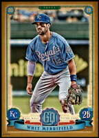 Whit Merrifield 2019 Topps Gypsy Queen 5x7 Gold #82 /10 Royals