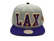 Los Angeles Lakers Mitchell & Ness Retaggio 110 Flex Adjustable Snapback Cap
