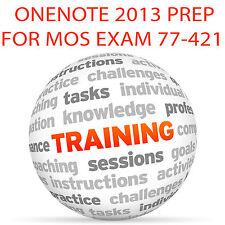 OneNote 2013 pour MOS Certification Exam 77-421 - Video Training Tutorial DVD