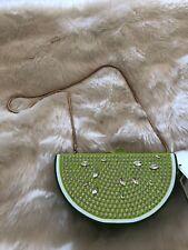 NWT Kate Spade New York Breath Of Fresh Air Bejeweled Lime Slice $348 CUTE!