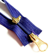 Reißverschluss VIOLETT DUNKEL teilbar 2-Wege Nylon Größe 3 YKK 866 Zipper Cipzár