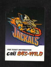 Orlando Jackals--1996 Home Pocket Schedule--RHI