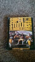 Pittsburgh Steelers book.  Super Steelers! The Making of a Dynasty