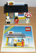 LEGO City 6683 Hamburger Stand/tavola calda V. 1983 + OBA