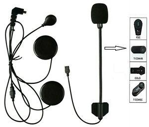 FreedConn Mic/microphone/speaker Bluetooth hard Cable Intercom Headset Earpiece