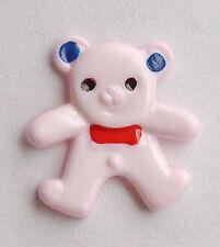 10 pulsanti a forma di orso rosa CN10