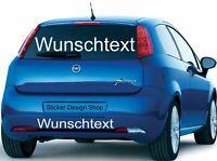 Wunschtext Domain Aufkleber Autobeschriftung Auto Heckscheibe Domainaufkleber