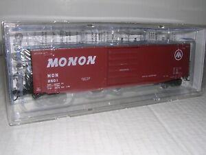 KADEE #6336  Monon 50' PS-1 Box Car #2501 w/Cushion Underframe H.O.1/87
