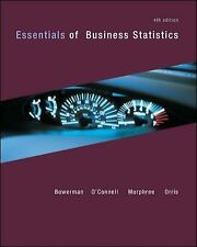 Essentials of Business Statistics by Bowerman, Murphree, Orris - Hardcover 4th